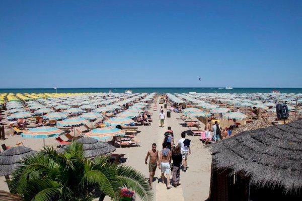 Bagno 81 - La Spiaggia | Hotel Vittorio Veneto