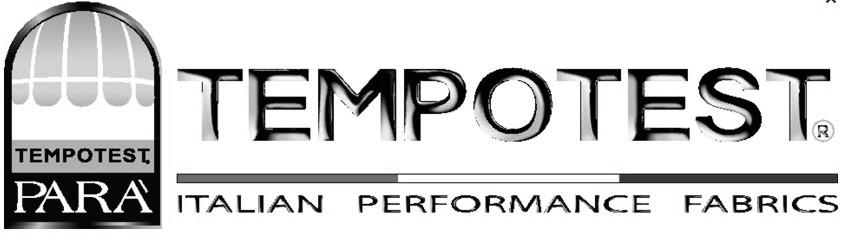 Druma Tende equipaggia i suoi prodotti con l'alta qualità dei Tessuti Tempotest