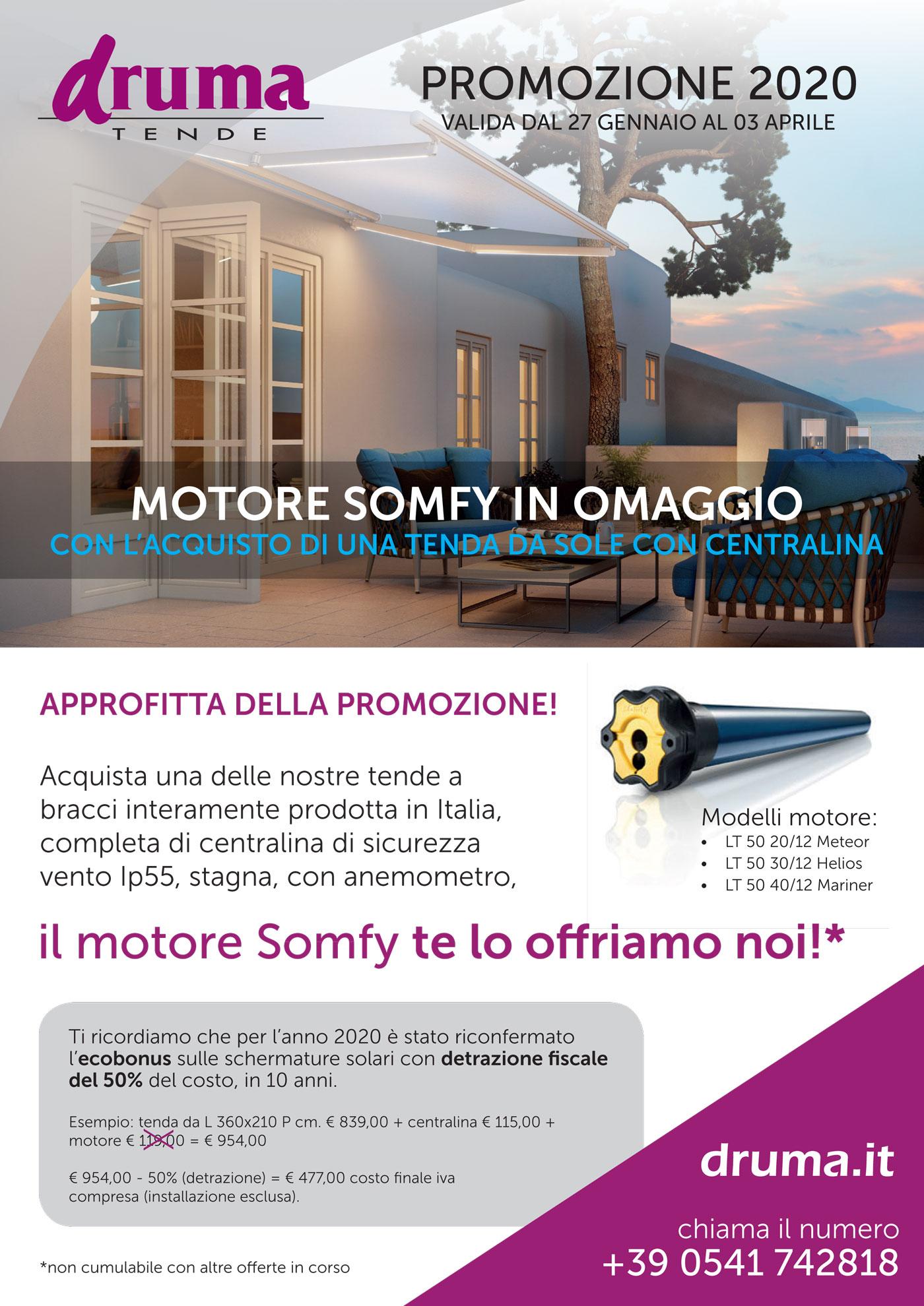PROMOZIONE 2020 - MOTORE IN OMAGGIO