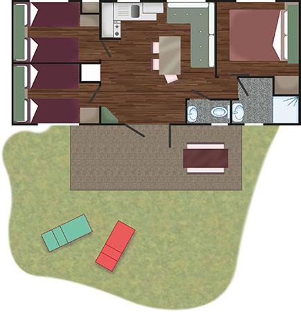 ***** Piantina ***** - Mobile Home Grand Charme | Villaggio Camping Adria