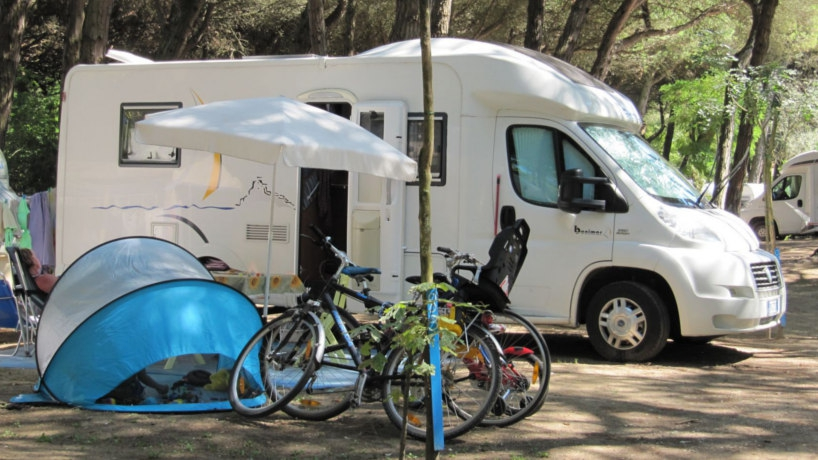 Camping Marina Ravenna Riviera Adriatica Piazzole Parcheggio Camper in Romagna