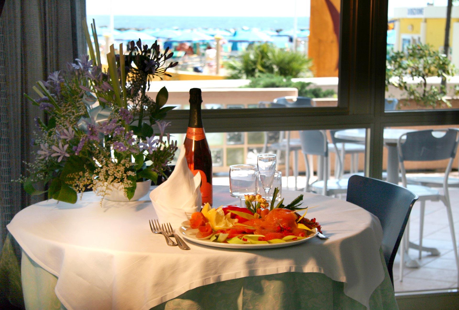 Ristorante Panoramico con Menu Romagnolo | Hotel Excelsior Bellaria